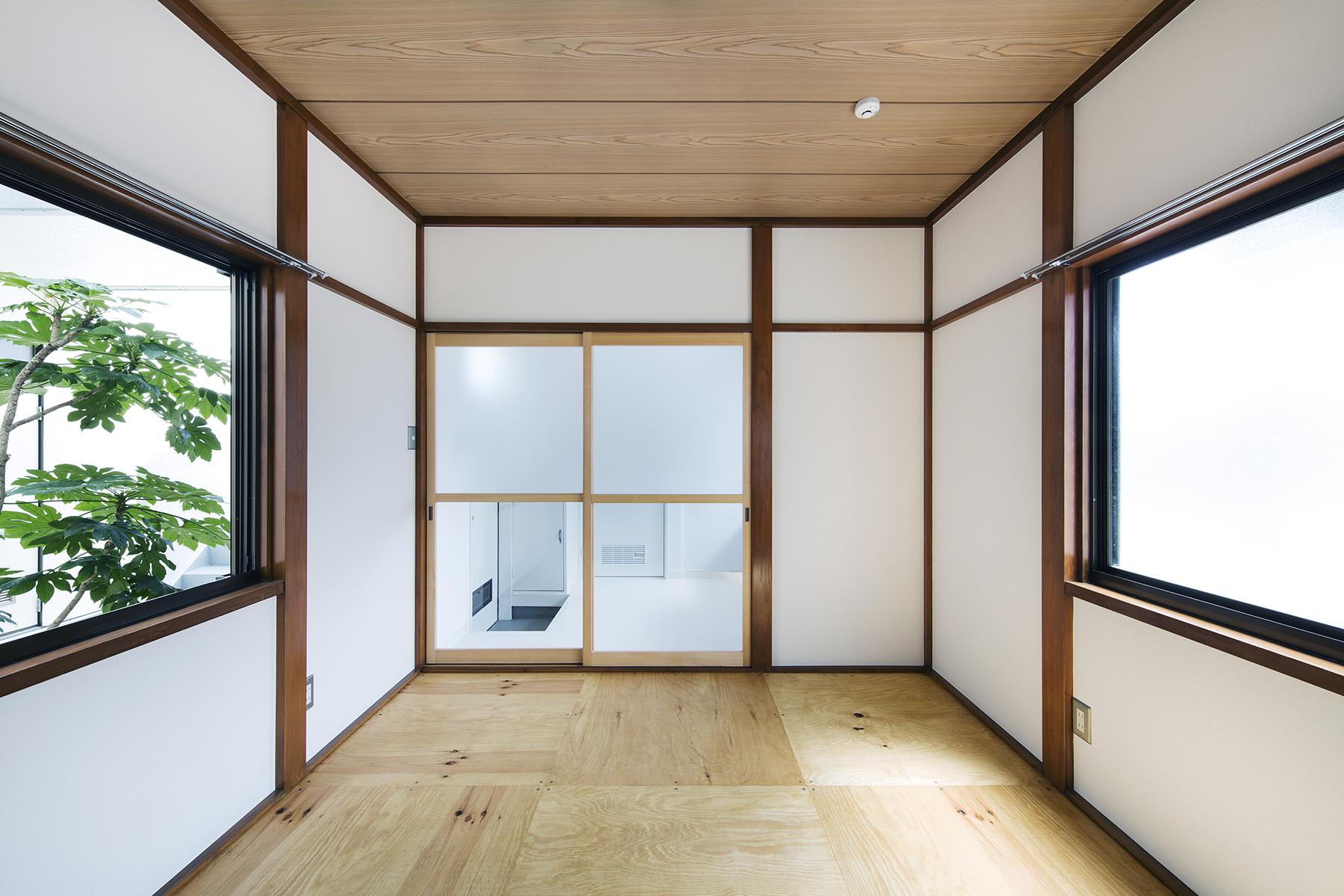 モクチンレシピ ぱきっと真壁 和室は整えるだけで美しい